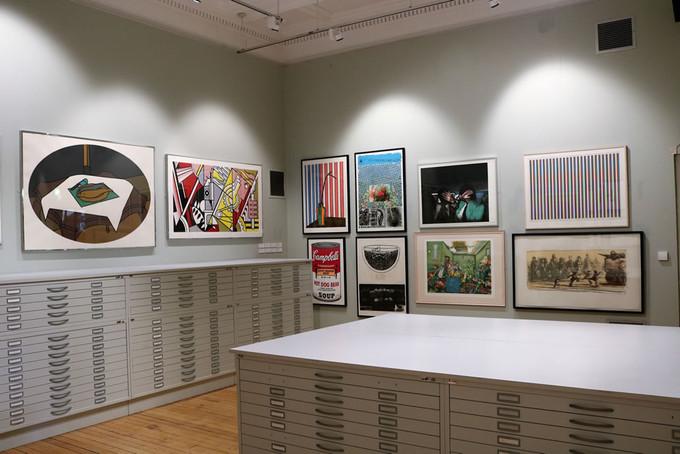 Print room display
