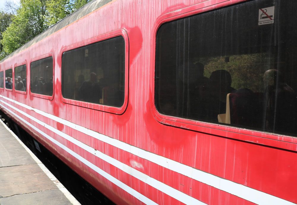 Intercity Mk3 coaches