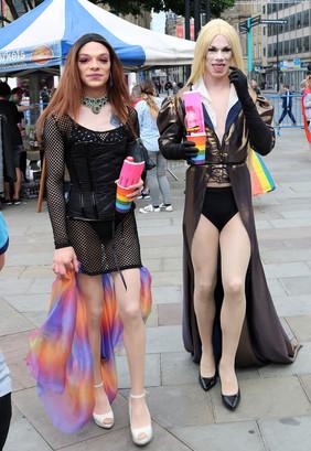 Couple Gay pride Bradford