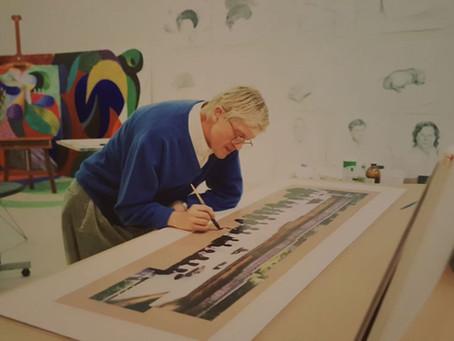 David Hockney Pools Bradford