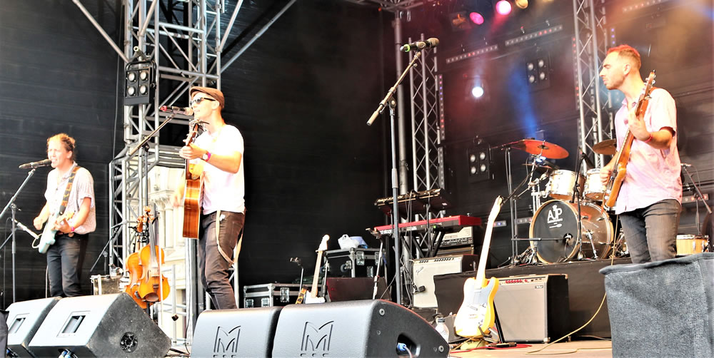 Band at Bradford festival