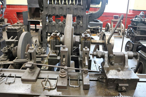 Industrial museum Machinery cutting pess