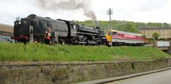 loco 75078 & Class 31, 97 205