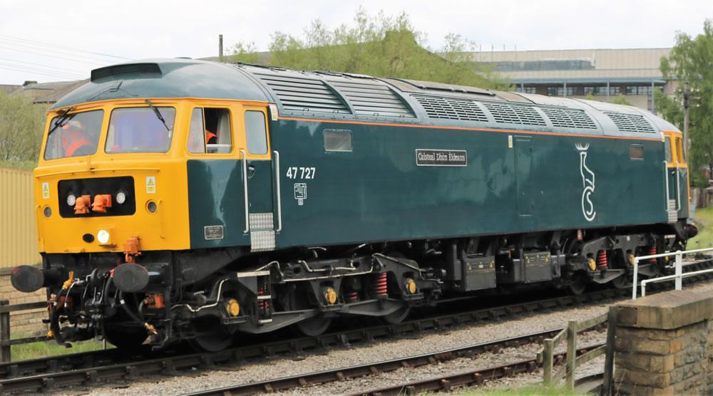 Caledonian Sleeper Class 47 7  47727