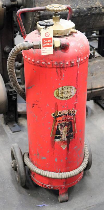Industrial museum Machinery Fire Extingu