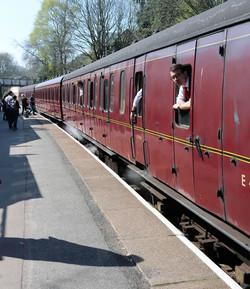 Steam carriges Haworth