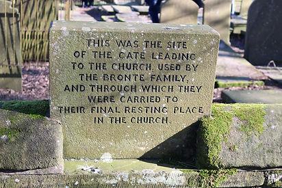 Bronte memorial tablet