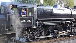 Steam locomotive 43106
