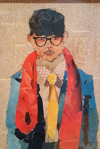 Hockney self portrait