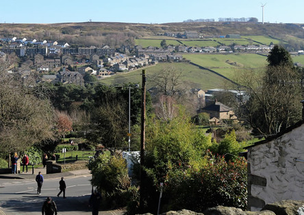View from Haworth main street