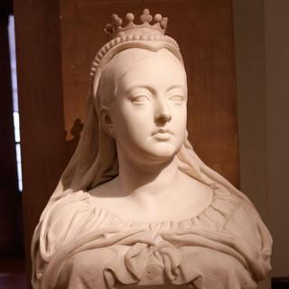 Queen Victoria bust by John Acton