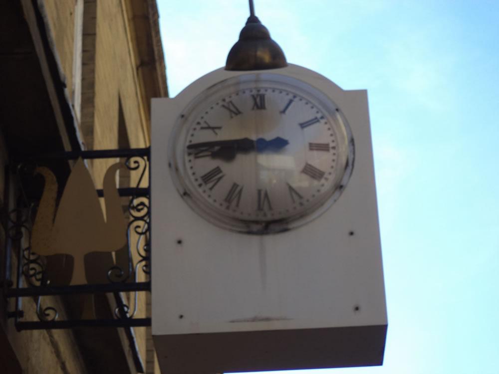 Bradford high street clock