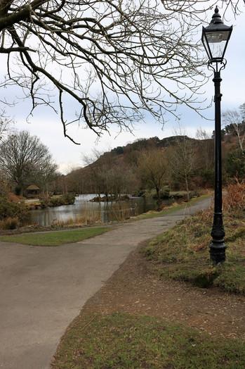 Ilkley Tarn path