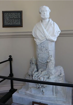 titus salt marble bust