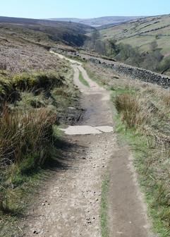 Haworth moor track