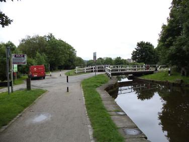 Hirst Mill Swing Bridge