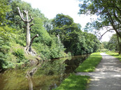Leeds liverpool canal towpath