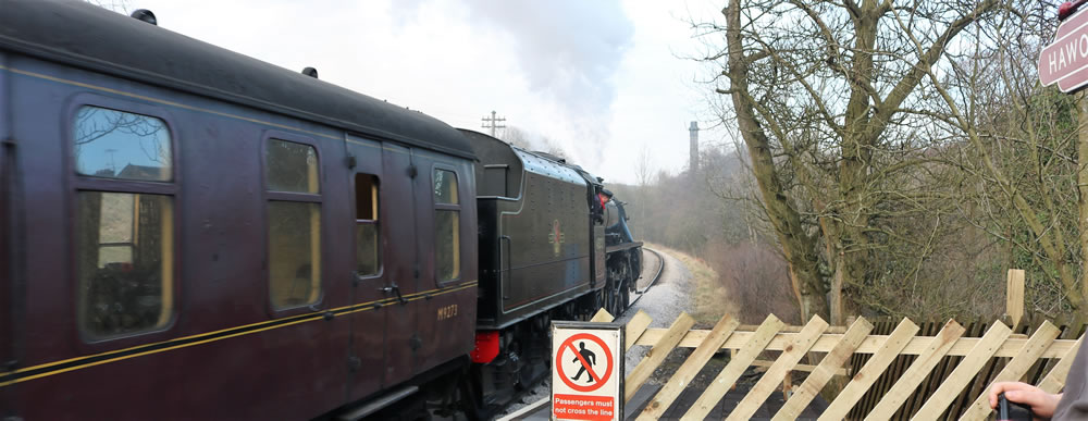 Hawoth steam train