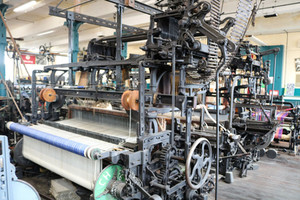 Sowden worsted coating loom