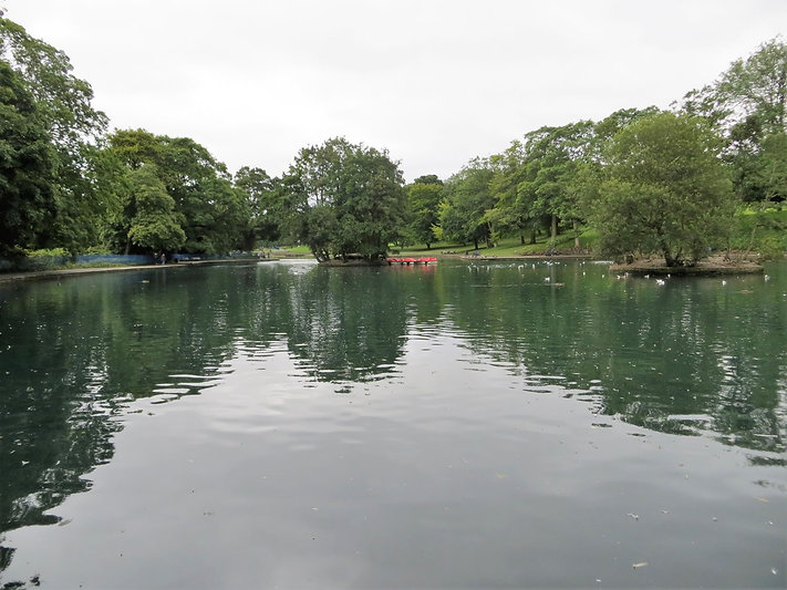 Lister park boating lake