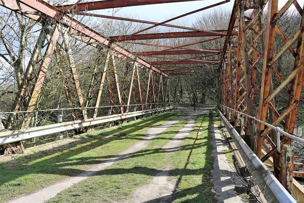 Esholt Bradford Railway Bridge over canal