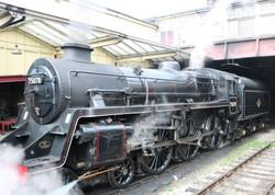 British Railways 4MT 4-6-0 No.75078