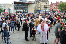 Bradford pride Centenary park 2019
