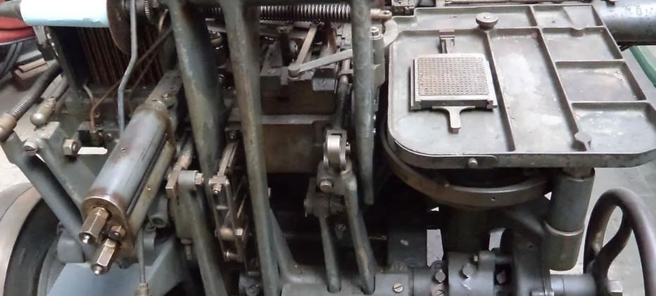 Monotype Type Setter