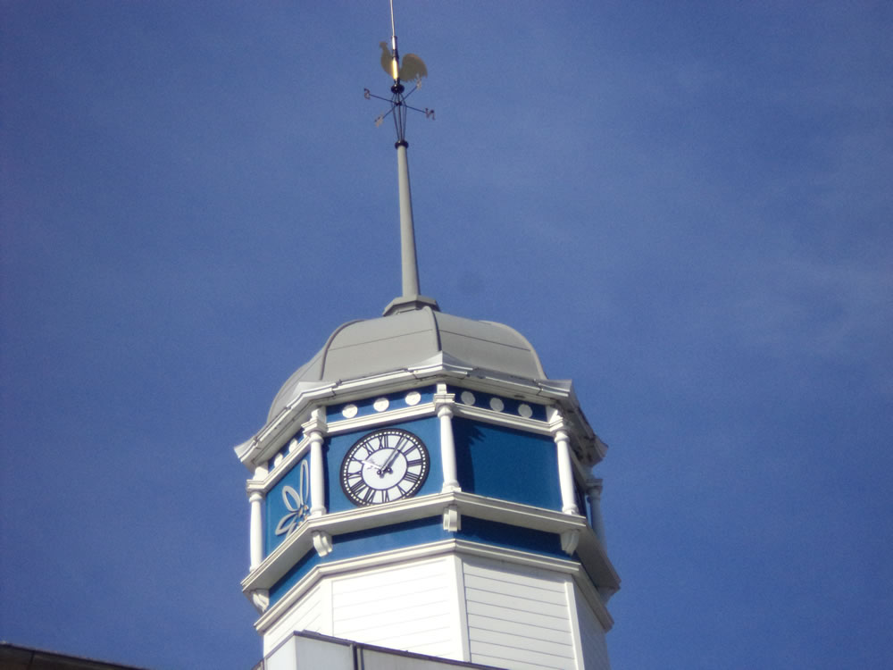 Bradford Penny Bank Clock