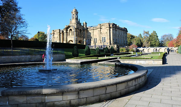 Cartwright hall in Liste Park