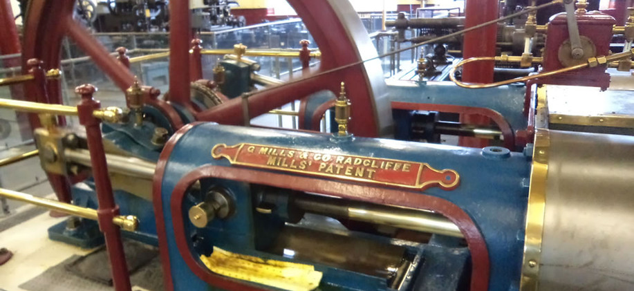 Steam fire pump Bradford Industrial Museum