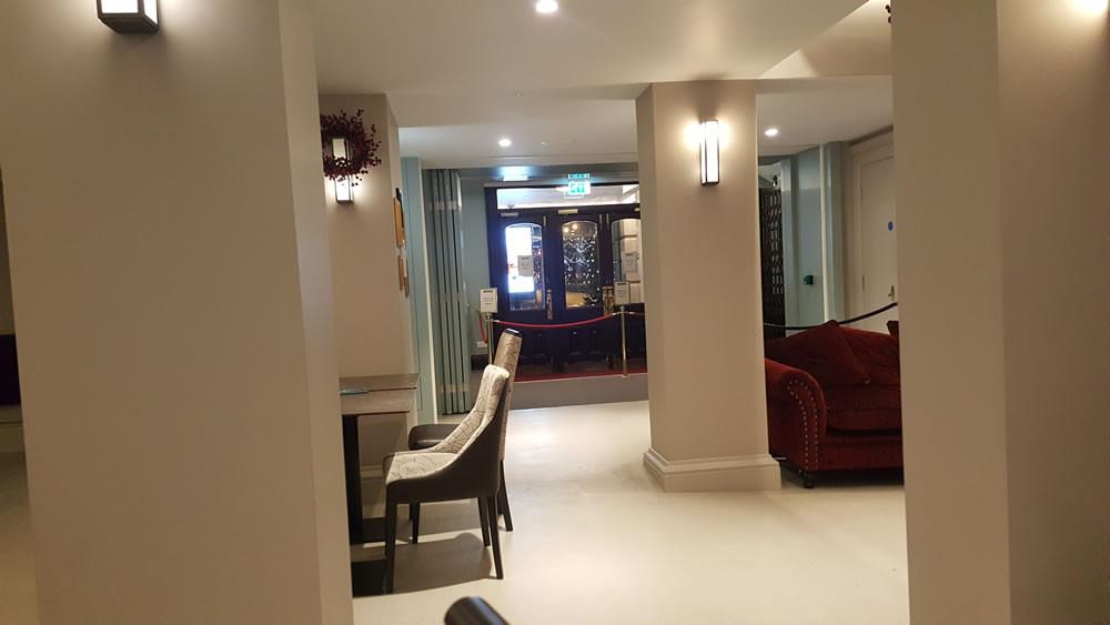 St Georges Hall Bradford entrance hall