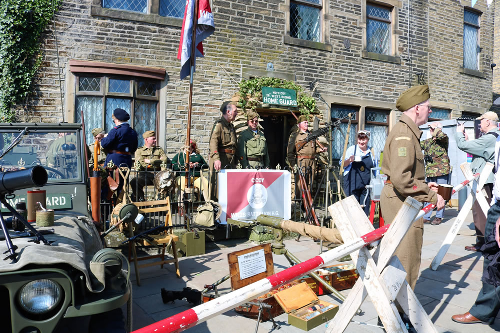 Haworth home guard