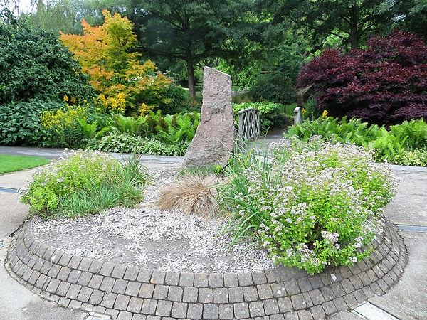 Igneous rock garden