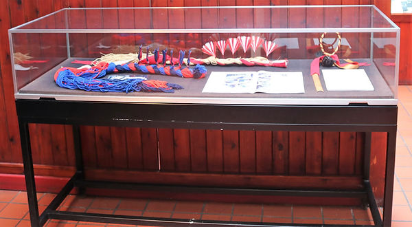 Shire Horse mane roll display.jpg