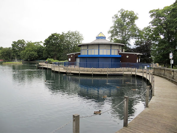Lister park boating pavillion