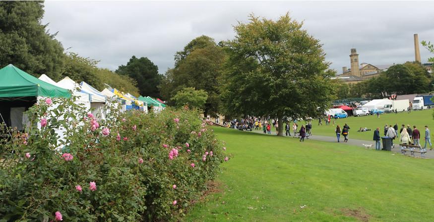 Roberts park Saltaire festival