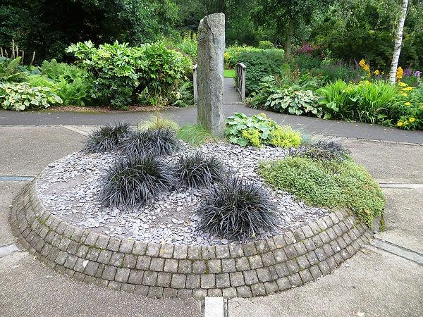 Metamorphic rock garden