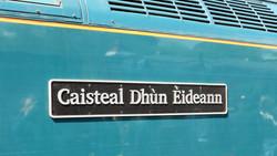 Caisteal Dhun Eideann nameplate