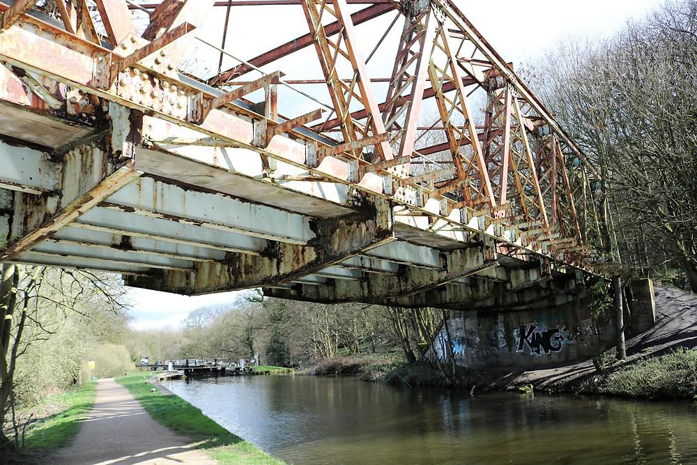 Esholt Railway Bridge over canal