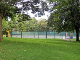 Lister park tennis courts