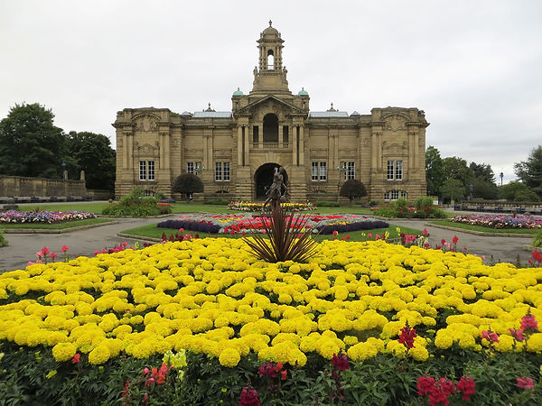 cartwright hall and lister park Bradford UK