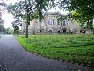 Path to Cartwright hall