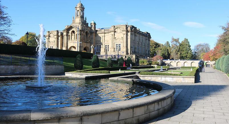 mughal garden Lister Park Bradford UK