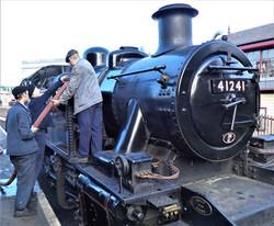 Steam locomotive No