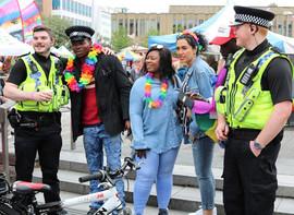 Bradford Pride cops off