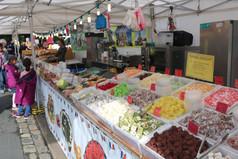 Sweet stall Saltaire festival