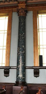 Hollow Corinthian columns