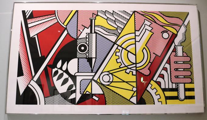Peace Through Chemistry (1970) by Roy Lichtenstein