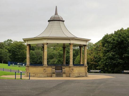 Bandstand in Lister park Bradford UK